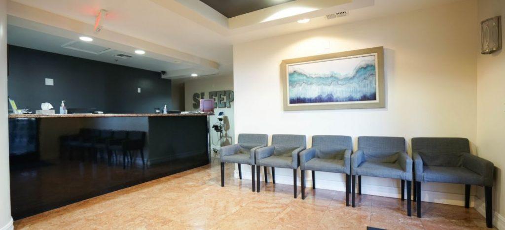 Lobby at The Sleep Center of Nevada